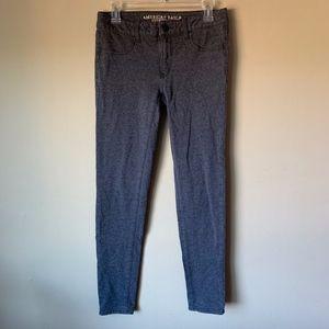 American Eagle Super Stretch Grey Jegging Jeans